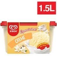 Sorvete Kibon de Creme - 1,5L