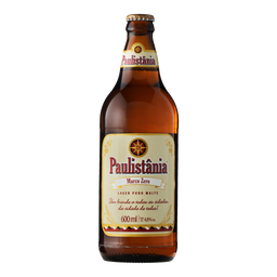 Cerveja Paulistânia Puro Malte