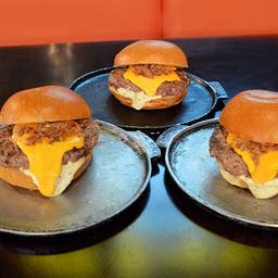 Trio 'O' Burger Cheddar