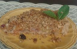 Fatia de Torta de Frutas Secas