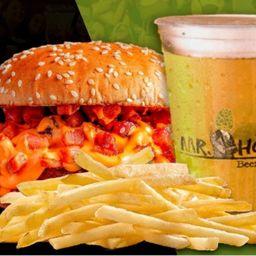 Combo Casal Burger, Batata e Chope