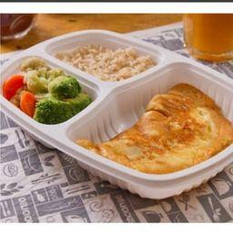Omelete Queijo e Presunto