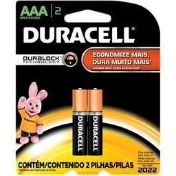 Pillha Duracell AAA