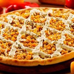 Pizza de Frango e Milho