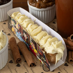 Gourmet ganache de chocolate branco