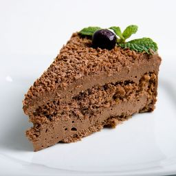 Mousse de Chocolate - Fatia S/adc Açucar