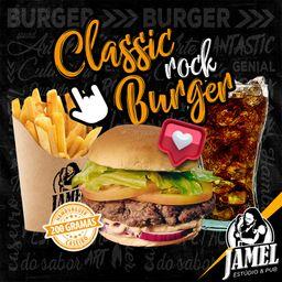 Combo Classic Rock Burger e Bebida