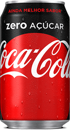 Coca Cola zero Açucar 350ml