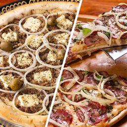 Pizza 2 Sabores - Pequena
