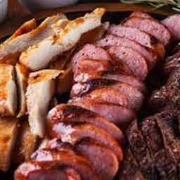 Misto | 1 Pessoa (frango, Linguiça e Carne Bovina)