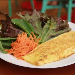 Omelete C/ Salada