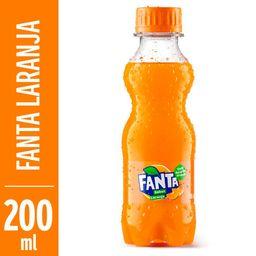 Fanta laranja 200ml.