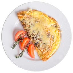 Omelete Na Chapa Grande