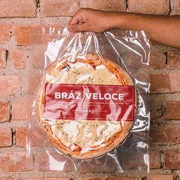 Pizza Veloce Mussarela - Bráz