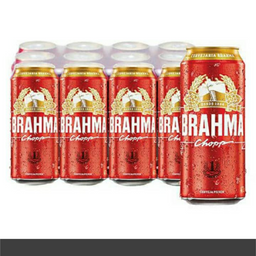 Cerveja Latão Brahma 473ml Und.