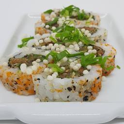 Uramaki de Salmão ou Atum - 8 Peças