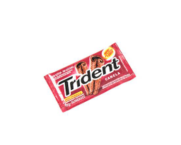 Chiclete Trident - Canela