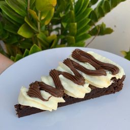 Fatia de Brownie Ninho C/ Nutella