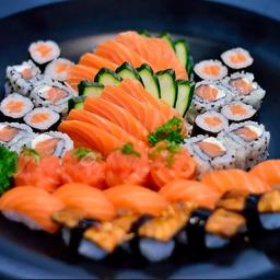 Especial Mix de Sashimi e Sushi - 40 Peças