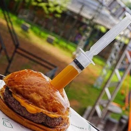 Burger Seringa de Cheddar