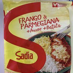 Frango a Parmegiana + Arroz + Batata - Sadia 350g