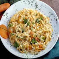 Risoto frango com legumes - solo