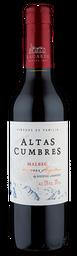 Vinho Altas Cumbres Malbec -  375ml