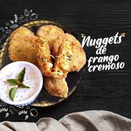 Nuggets cremoso de frango - 6 unidades
