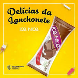 Chocolate ao leite - picolé gourmet 65g