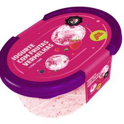 Pote de 1 Litro de Iogurte com Frutas Vermelhas
