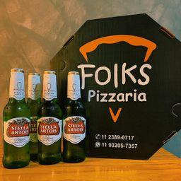 Stella Artois + Pizza Grande
