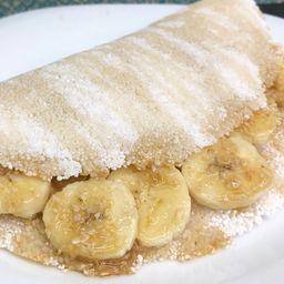 Tapioca de Banana, Aveia, Canela & Melado