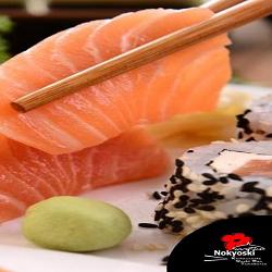 Sashimi Salmão/Peixe Branco 10 Unidades
