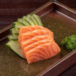 Sashimi de Salmão - 5 Fatias