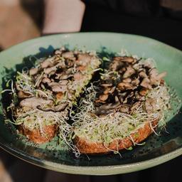 Cogumelos com Avocado