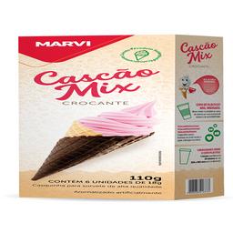 Cascão Mix Marvi - 6 Unidades