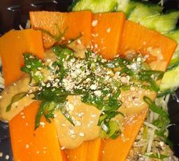 Sashimi de Cenoura com Molho - Unidade