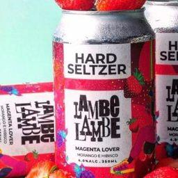 Hard Seltzer Magenta Lover Lambe Lambe 350ml