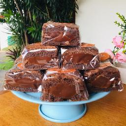 Brownie Recheado de Brigadeiro