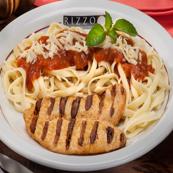 Fettucine combinado com Grelhados