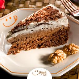 Torta de Brownie - Fatia