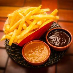 Batata frita grande 500 gramas