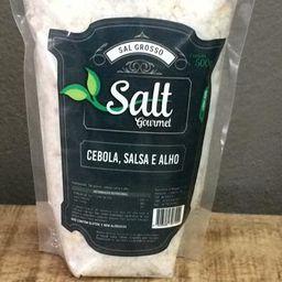Sal Grosso Cebola Salsa e Alho Gourmet