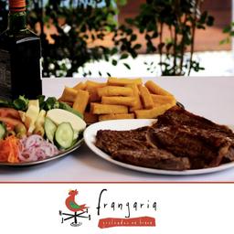 COMBO PICANHA Angus Premium  + Arroz + Feijão + Polenta Frita