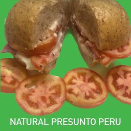 Sanduiche Natural Presunto de Peru