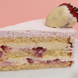 Dona ana morango - fatia | torta dalena