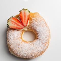 Donuts recheado morango