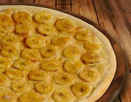 Pizza de Banana com Canela - Brotinho 23cm