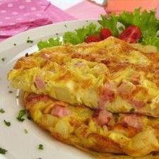 Omelete de frios