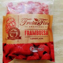Framboesa orgânicas fruta fina 550g